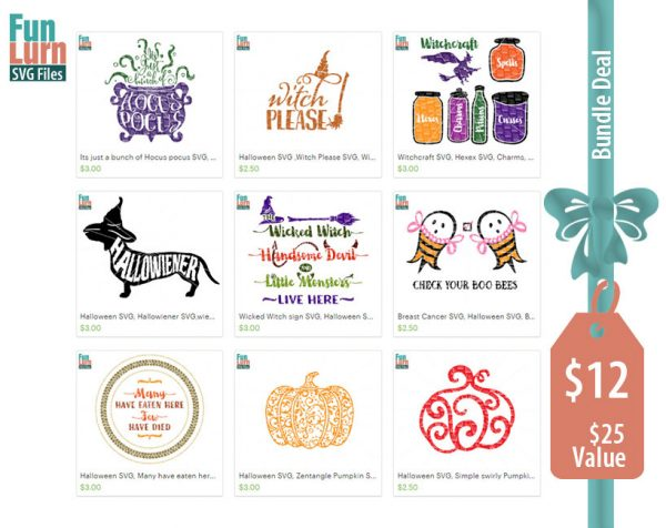 Halloween SVG Bundle 1, Hocus Pocus, Hallowiener, Witchcraft, witch please, Wicked witch sign, Witchcraft labels SVG, DXF, Png Cut Files