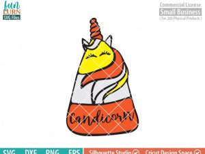 Candy Corn Unicorn SVG, Halloween svg, Trick or Treat Bag SVG Candy Corn Cutie , SVG Files, svg,png, dxf, eps