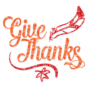 Give Thanks SVG, Thanksgiving ,  Thankful, SVG file, dxf, eps png for digital cutting with silhouette cameo, cricut air etc