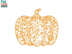Halloween SVG, Zentangle Pumpkin SVG, Doodle Pumpkin, Autumn,Harvest, Fall, Ornament,flourish, swirl, intricate, swirls,Pumpkin, png dxf eps