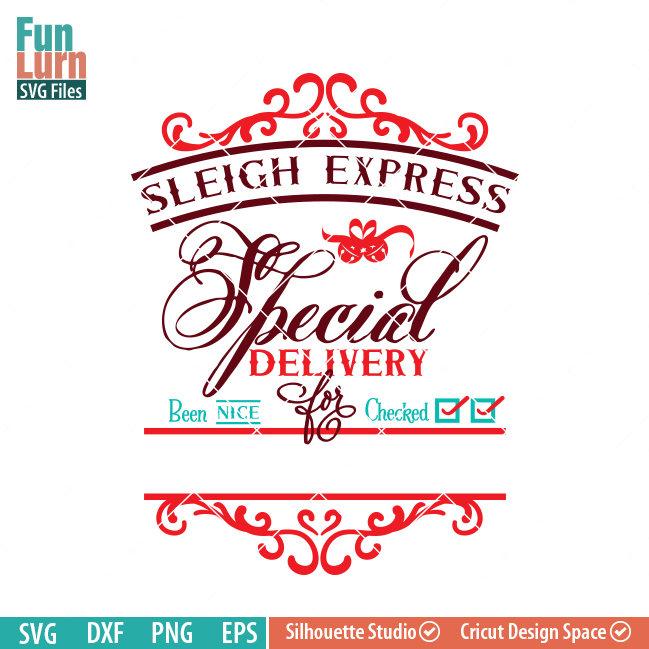 Sleigh Express Santa Bag Funlurn