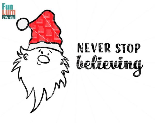 Never stop believing SVG