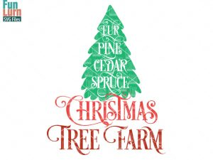 Christmas Tree Farm SVG