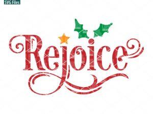Rejoice SVG