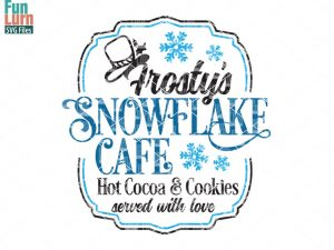 Snowflake Cafe SVG