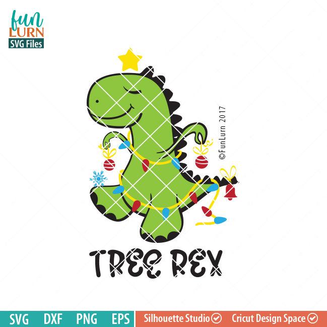 Tree Rex Svg Funlurn