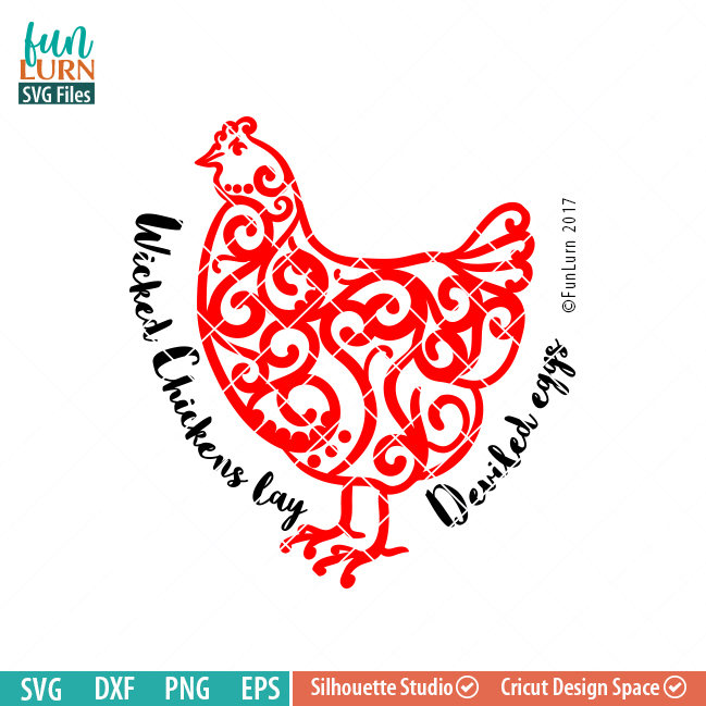 Wicked Chickens Lay Deviled Eggs Svg Funlurn