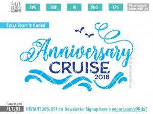 Anniversary Cruise SVG