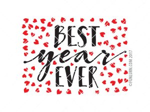 Best Year Ever svg