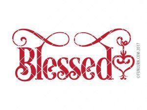 Blessed SVG