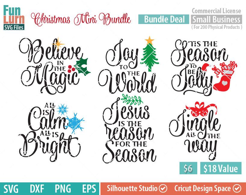 Christmas Mini Bundle Svg Funlurn
