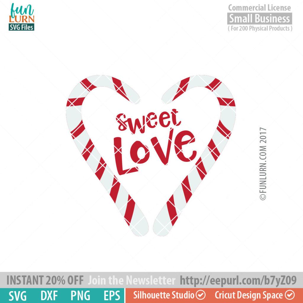 Sweet Love Svg Funlurn