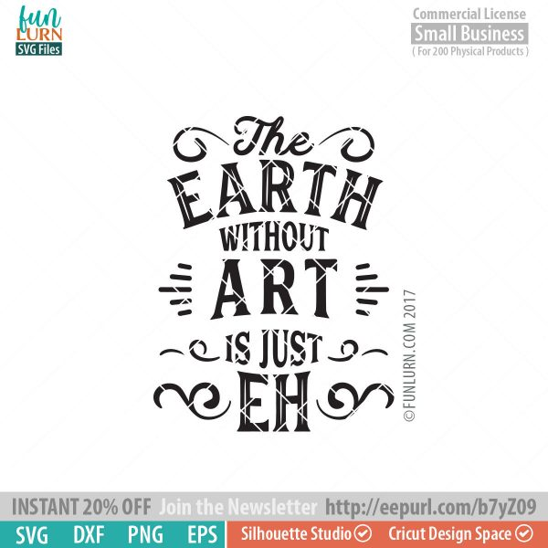 The earth without art is just eh SVG