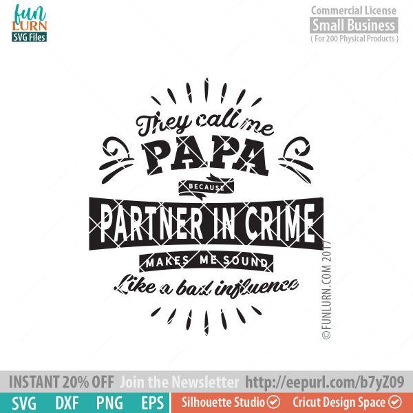 partner in crime svg