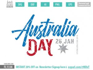 Australia Day 26 Jan SVG