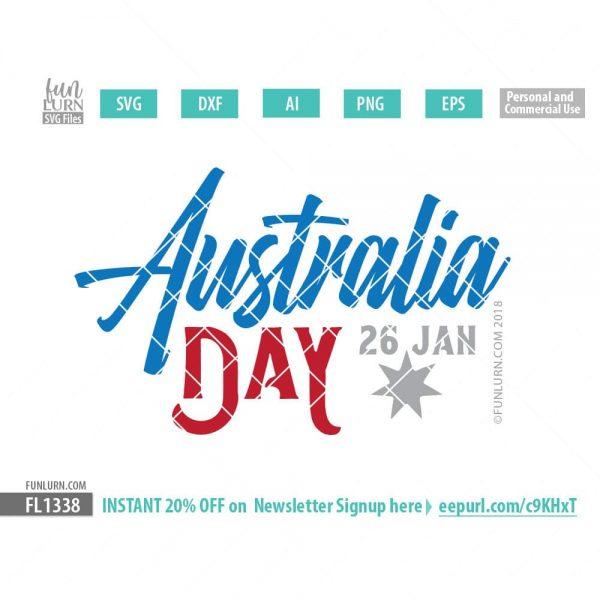 Australia Day 26 Jan SVG
