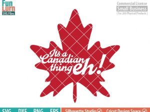 Its a Canadian thing eh SVG