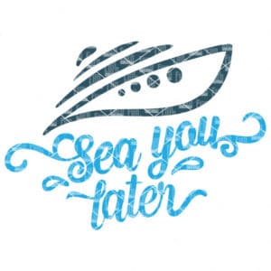 Sea you later SVG