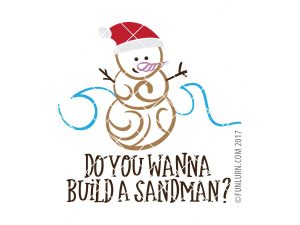 Do you wanna build a sandman SVG
