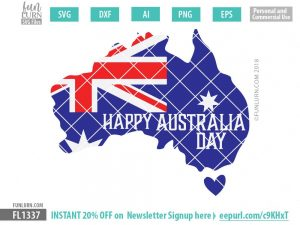 Happy Australia Day svg