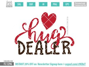 Hug Dealer SVG