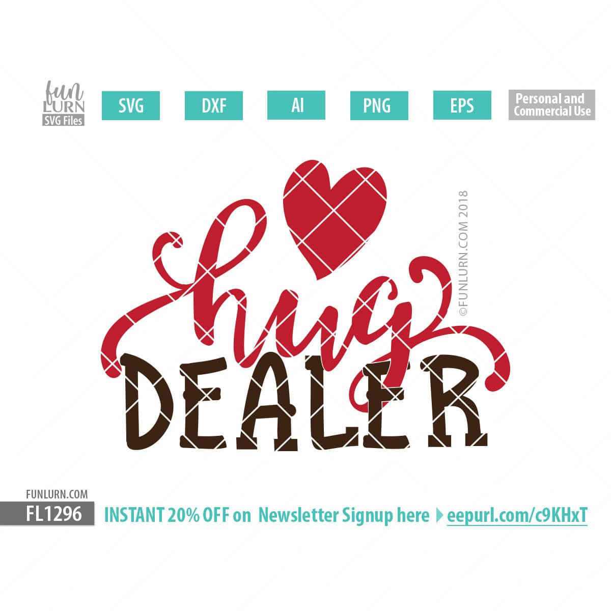 Hug Dealer Svg Funlurn