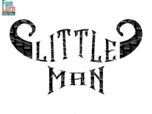 Little man svg