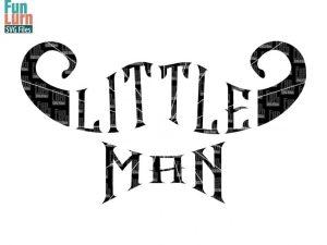 Little man svg