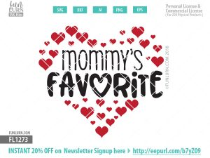 Mommy's favorite SVG