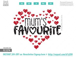 mum's favourite SVG