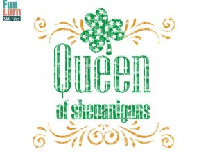 Queen of Shenanigans svg