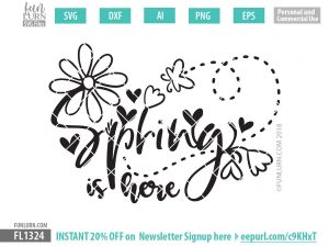 Spring is here SVG