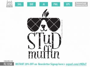 Stud Muffin SVG