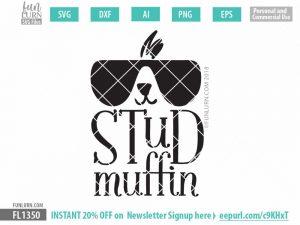 Stud Muffin SVG