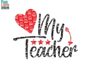 love-my-teacher-svg