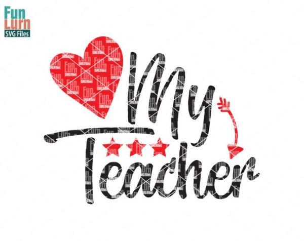 love-my-teacher-svg