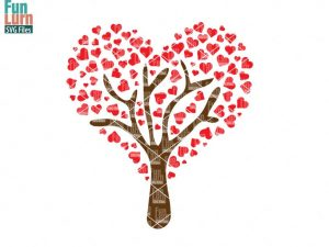 Heart Tree SVG