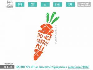 Do not carrot all SVG
