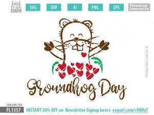 Groundhog Day SVG