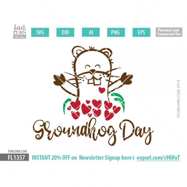 Groundhog Day SVG