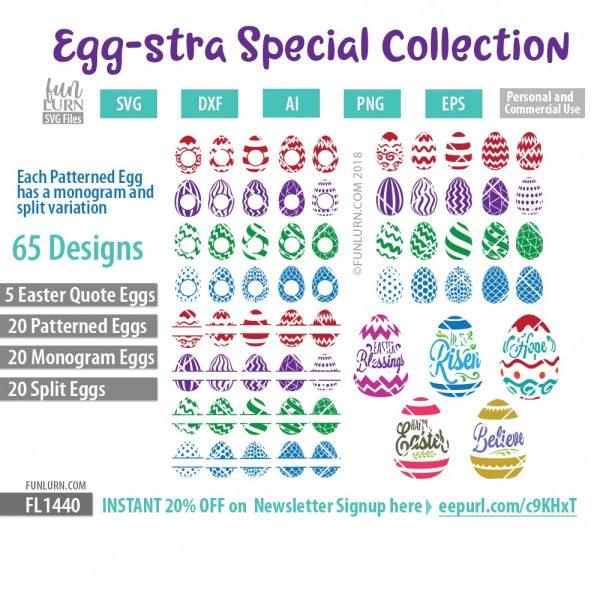 Patterned Easter Egg Bundle