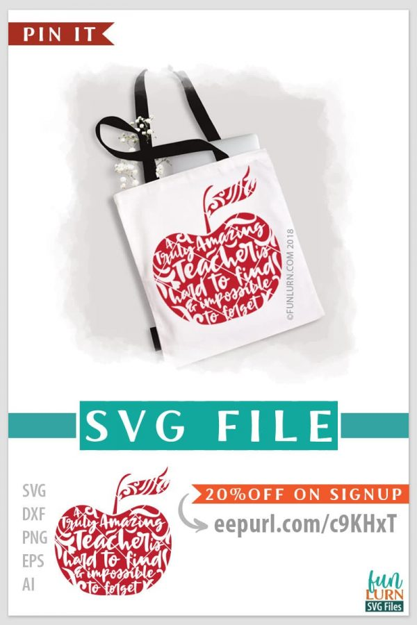 A truly amazing teacher is hard to find and impossible to forget svg