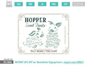 Hopper Sweet Treats SVG
