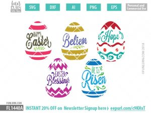Easter Quotes svg