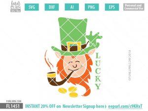 Lucky Leprechaun SVG