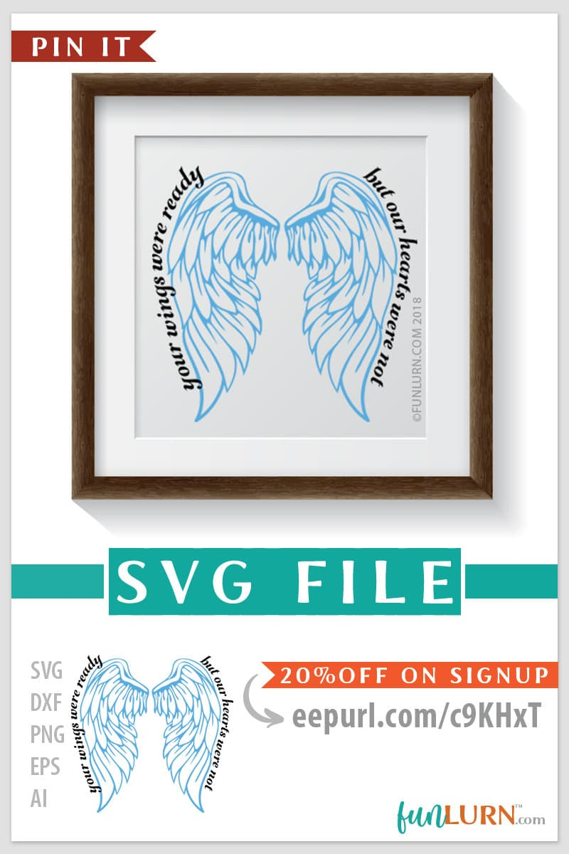Christmas In Dixie Svg.Your Wings Were Ready But My Heart Was Not Svg