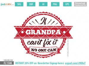 if Grandpa cant fix it no one can