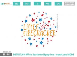 Little Firecracker svg