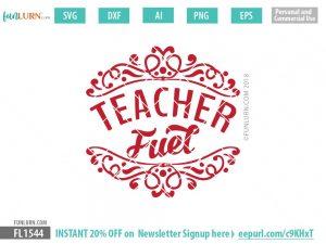 Teacher Fuel svg
