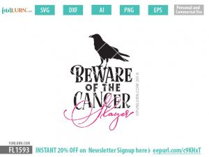 Beware of the Cancer Slayer SVG